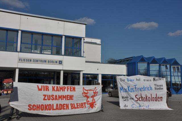 Fliesenzentrum  Besuch bei Markus Friedrichs Fliesenmarkt in Großbeeren ...